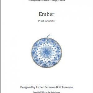 Net Suncatcher: Ember - 6 inch