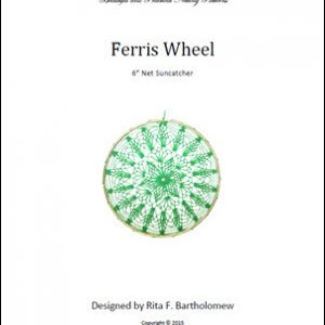 Net Suncatcher: Ferris Wheel - 6 inch
