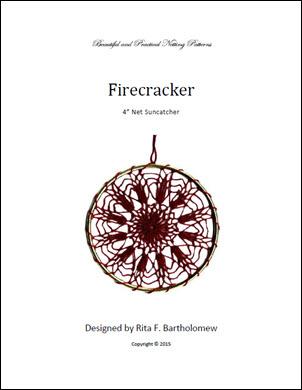 Net Suncatcher: Firecracker - 4 inch