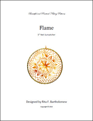 Net Suncatcher Flame - 5 inch