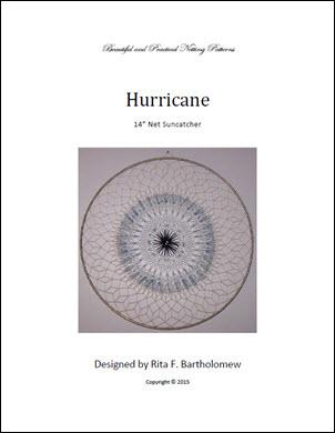 Net Suncatcher: Hurricane - 14 inch