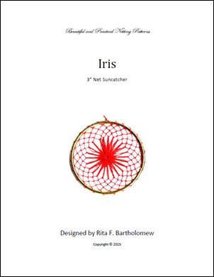 Net Suncatcher: Iris - 3 inch