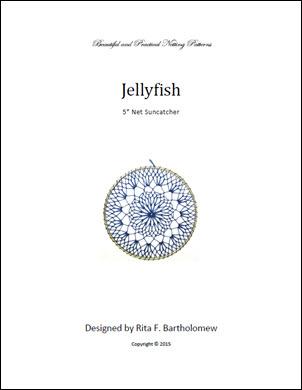 Net Suncatcher: Jellyfish - 5 inch