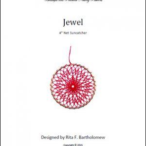 Net Suncatcher: Jewel - 4 inch