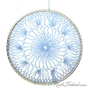 Net Suncatcher: Moonlight - 5 inch