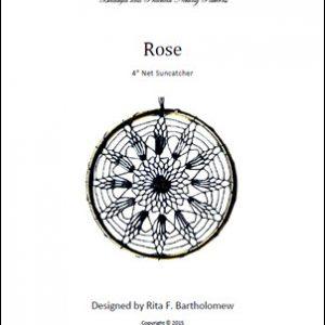 Net Suncatcher: Rose - 4 inch