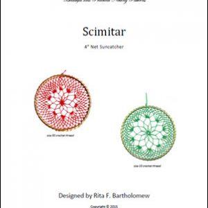 Net Suncatcher: Scimitar - 4 inch