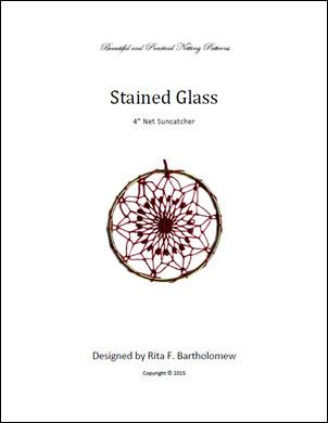 Net Suncatcher: Stained Glass - 4 inch