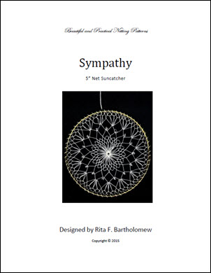 Net Suncatcher: Sympathy - 5 inch