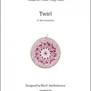 Net Suncatcher: Twirl - 6 inch