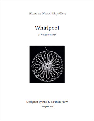 Net Suncatcher: Whirlpool - 3 inch