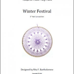 Net Suncatcher: Winter Festival - 5 inch