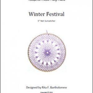 Net Suncatcher: Winter Festival - 5 inch