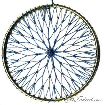 Net Suncatcher: Burst - 4 inch