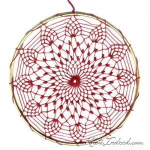 Net Suncatcher: Centerpiece - 5 inch