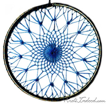 Net Suncatcher: Creation - 4 inch