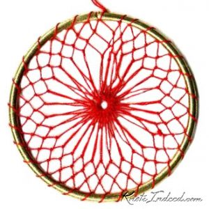 Net Suncatcher: Double Thread - 3 inch