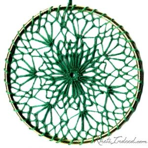 Net Suncatcher: Sea Anemone - 4 inch