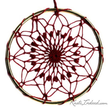 Net Suncatcher: Stained Glass - 4 inch