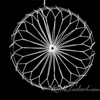 Net Suncatcher: Thin Ties - 3 inch