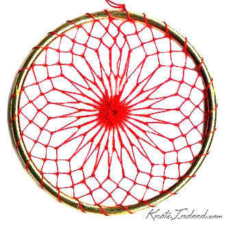 Net Suncatcher: Tier - 3 inch